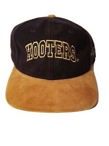 Hooters Manchester Road Hat Tuckstrap with Buckle Strap   Blue and Tan