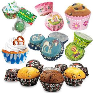MUFFINFÖRMCHEN - Muffin Förmchen Cupcake Muffins Kuchen Backen Kindergeburtstag