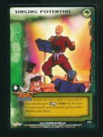 RARE Yu Yu Hakusho TCG CCG Singing Potential V1/4 Ghost Files Promo Card 2003