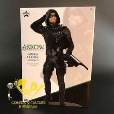 "Icon Heroes GREEN ARROW 8"" SEASON 5 PX Previews Exclusive TV SHOW Statue!"