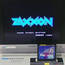 """SEGA SC-3000 Cart Only """" ZAXXON """" Japan Import Arcade Shooter SG-1000 mark3 RARE"""