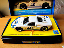 Scalextric Ford gt40 1966 white #40 Art. c2943a Limited Edition 2000 pièce