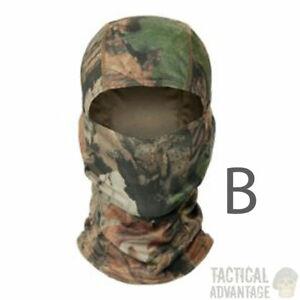 Realtree Camouflage Balaclava Sniper Veil Hood Hunting Face Mask Airsoft Camo UK
