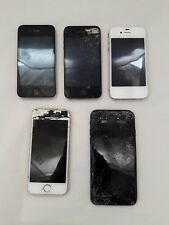 Apple iPhone Lot of 5 Phones For Parts Broken AS-IS iPhone 7  1332 1457 1778