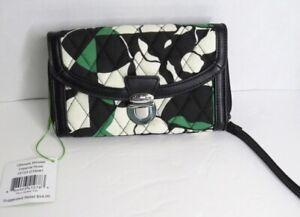 NWT Vera Bradley Signature Cotton Ultimate Wristlet Clutch Imperial Rose  $54