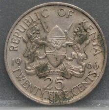 Kenia Kenya - twentyfive 25 cents 1966