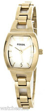 Fossil Isobel Watch BQ1067 Ladies 24mm Silver Dial Stainless Steel Band
