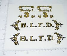 Buddy L Ladder Fire Truck Sticker Set           BL-034