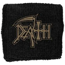 OFFICIAL LICENSED - DEATH - LOGO SWEATBAND/WRISTBAND METAL