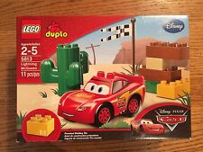LEGO Duplo 5813 Lightning McQueen from Disney Pixar Cars series NEW in Box!