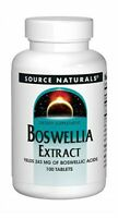 Source Naturals Boswellia Extract 100 Tablet Pack Of 2
