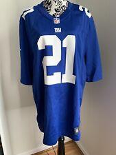 Landon Collins New York Giants Nike On Field Jersey XL Redskins