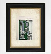 Roy Lichtenstein 1981 original print hand signed with certificate. resale $3450