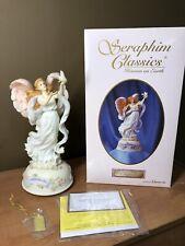 "Seraphim Classics Rare Musical Angel; Angels Touch; ""The Dedication Angel"""