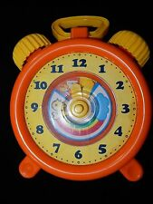 Unimax 1982 Wind Up Musical Toy Clock RARE