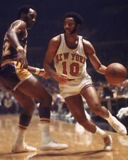 WALT FRAZIER 8X10 PHOTO NEW YORK KNICKS NY BASKETBALL NBA VS LA LAKERS
