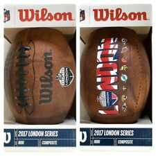 NFL International Series 2017 Logo London Games Mini Wilson American Football