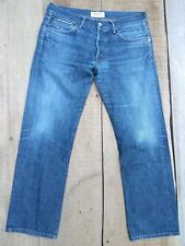 Simon Miller Japanese Selvedge Selvage Denim 5 Pocket Jeans Sz 34x30