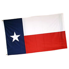 Premium Texas State Flag 3'x5' (3 by 5 Foot) 100% 120D Super Polyester Grommets