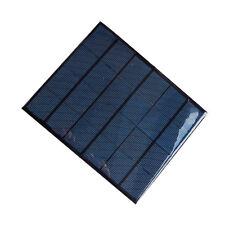 Top DIY 6V 3.5W Mini Small Solar Panel PV Polycrystalline Power Panel Battery