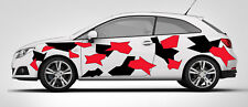 CAR CAMO KIT GRAPHICS VINYL DECALS STICKERS CAMOUFLAGE VINYL ANY SMOOTH SURFACE