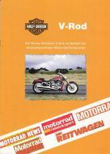 P + HARLEY-DAVIDSON V-Rod + im Pressespiegel + 8 Seiten