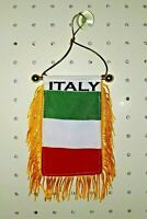 "Italy Flag Mini Banner 4/"" x 6/"""