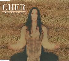 CHER BELIEVE UK CD SINGLE CD 1 ALMIGHTY MIX