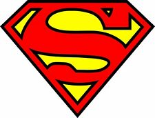Superman LOGO Comic BatMan Marvel Decal Sticker
