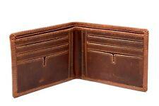 Ash 60op RFID Bifold Premium full grain Distressed Oil Pull up leather wallet