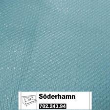 IKEA Söderhamn Bezug 3er Sitzelement Hohe Lehnen Isefall helltürkis 702.243.94