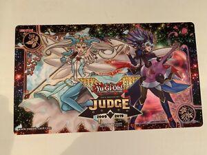 YuGiOh Official Trickstar Judge Playmat M/NM