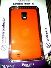 2 Trident Perseus Series Protective Cases for Samsung Infuse 4G in Orange New