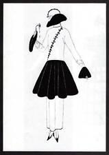 ORIGINALE Erte Vintage Art Deco stampa 1972 Moda LIBRO Piastra
