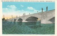 Postcard Arlington Memorial Bridge Washington DC