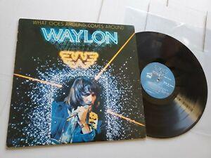Waylon Jennings - What Goes autour De Livré (LP) 1979 Country Honky Tonk