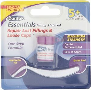 DenTek Essentials Cap,Crown,Filling Temporary Tooth/teeth Repair Kit -ESSENTIALS