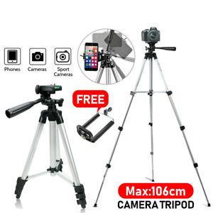 Universal Portable Camera Tripod Stand for Sony Canon Nikon Panasonic Camcorder