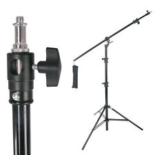16ft Lamp Boom Stand 9' Holding Arm Aluminum Photography Video Photo Studio Grip