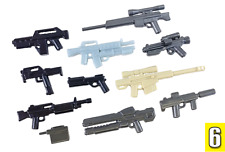 Brickarms Value Pack #6 Scale Guns for Lego Minifigures