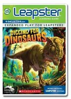 🌈LeapFrog Leapster Learning Game Scholastic Digging for Dinosaurs (Leapster,...