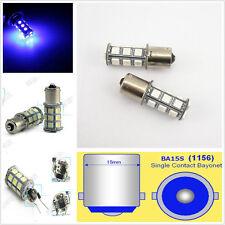 2 x Hyper Blue 18SMD 5050 LED Tail Turn Signal Light Bulb Lamp 1156 BA15S DC 12V