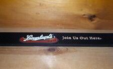 Leinenkugels Rubber Rail Bar Mat Beer Coaster Runner New
