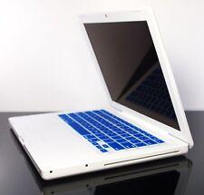 "ROYAL BLUE soft Keyboard Skin Cover for OLD Macbook 13"""
