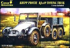 CAESAR MINIATURES Krupp Protze kfz.69 personentransporter Tractor KIT 1:72
