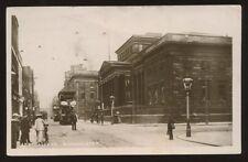 Lancs MANCHESTER Art Gallery Tram 1909 RP PPC