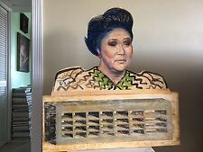 Portrait of Imelda Marcos, Philippine First Lady by Contemporary American Artist