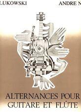 Guy Lukowski / Andre Noiret: Alternances pour guitare et flute