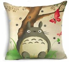 "TOTORO STUDIO GHIBLI CUSHION COVER 17""x17"" My Neighbour Japanese Anime Gift Idea"
