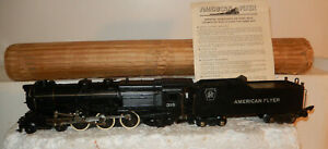 American Flyer BRAND NEW  Rare 315 Pacific Steam Engine OW 1952 & 1 Set Only